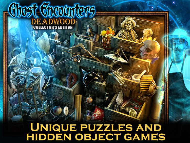 Ghost Encounters: Deadwood HD - A Hidden Object Adventure screenshot-4