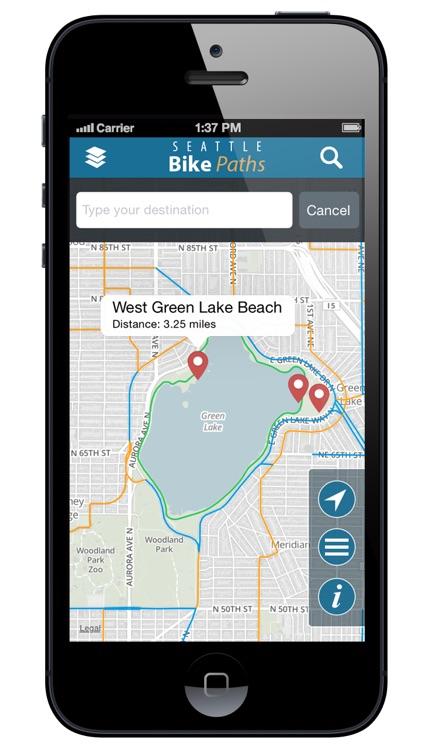 Seattle Bike Paths Free screenshot-4