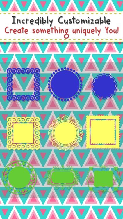 Monogram Maker-Make Custom Monogram Wallpapers,Backgrounds,Skins,Themes & Designs screenshot-4