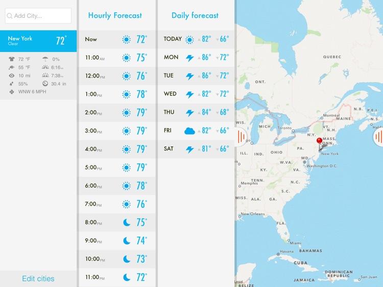 NOAA Radar & Hurricane inFocus Free - by Clear Day™ (Storm Alerts, Hurricane Tracker & Weather Forecast) screenshot-3