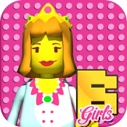 Bloxy Girls. Bricks For Kids