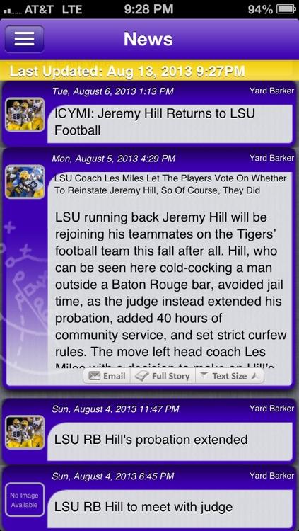 LSU Football Live
