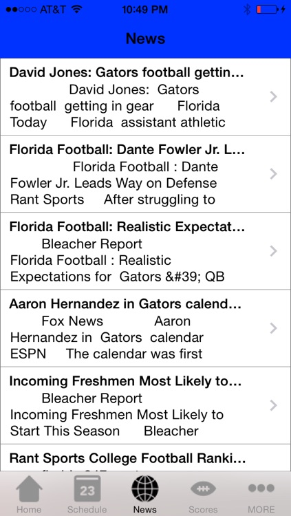 College Sports - Florida Football Edition screenshot-3
