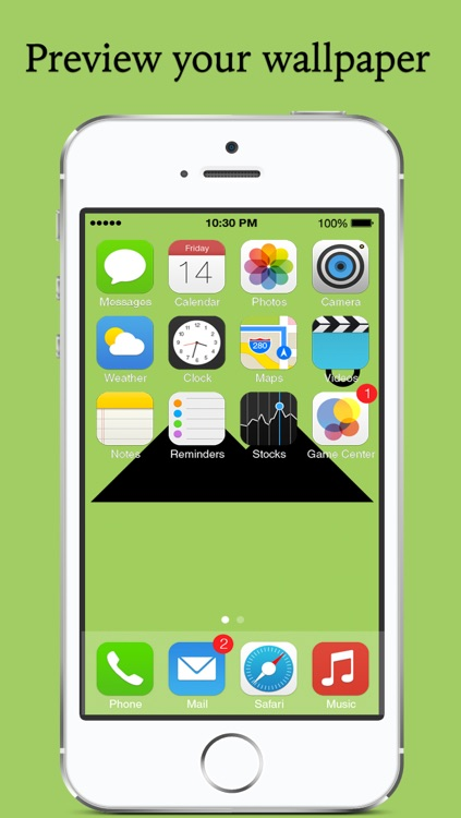 Fix and set  wallpaper - rotate, resize and position wallpaper the way you want and set as wallpaper  for Home Screen and Lockscreen screenshot-3