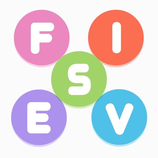 Fives - five letters