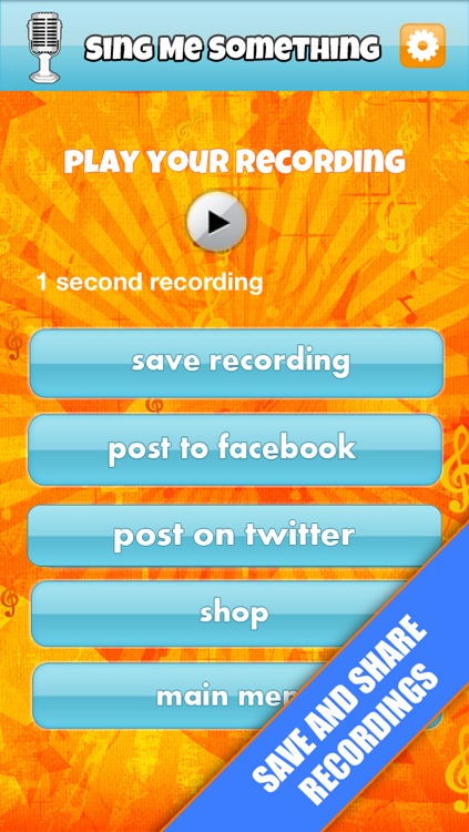 Sing Me Something-Free screenshot-3