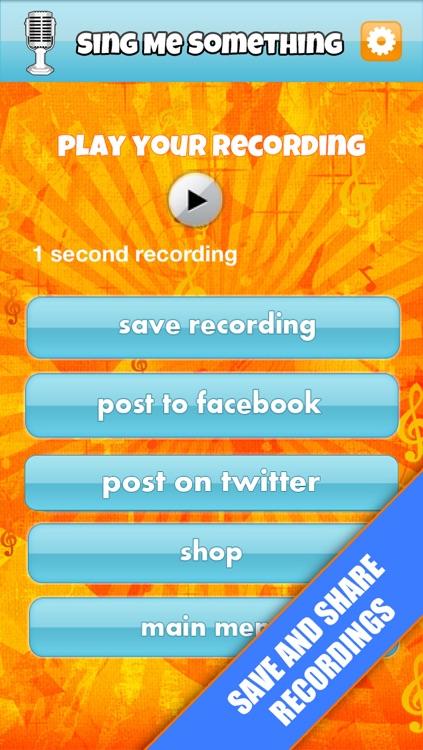 Sing Me Something-Free screenshot-3