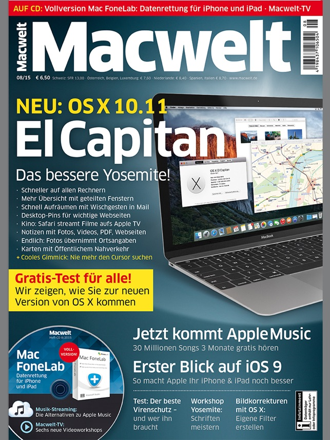 Macwelt Screenshot