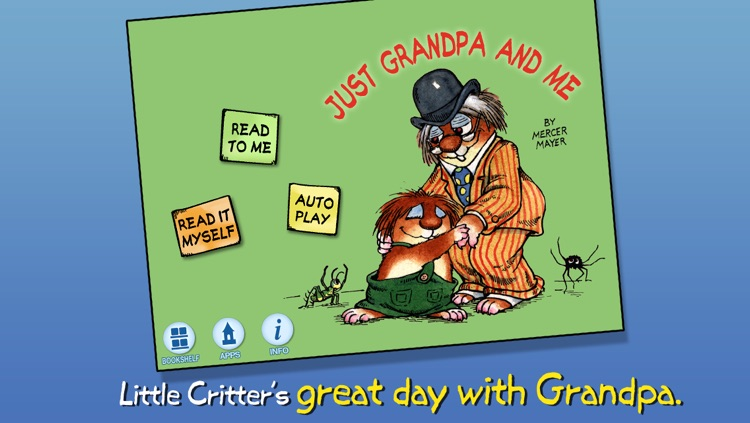 Just Grandpa and Me - Little Critter