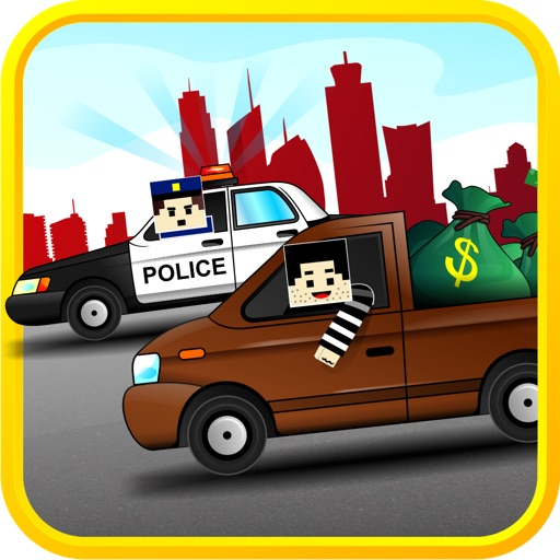 Cops Chasing Robbers : Hard Car Racing to Avoid Prison Time icon