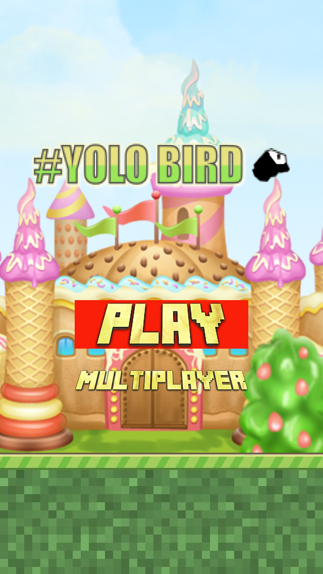 Yolo Bird - Multiplayer 1touch Action Game screenshot one