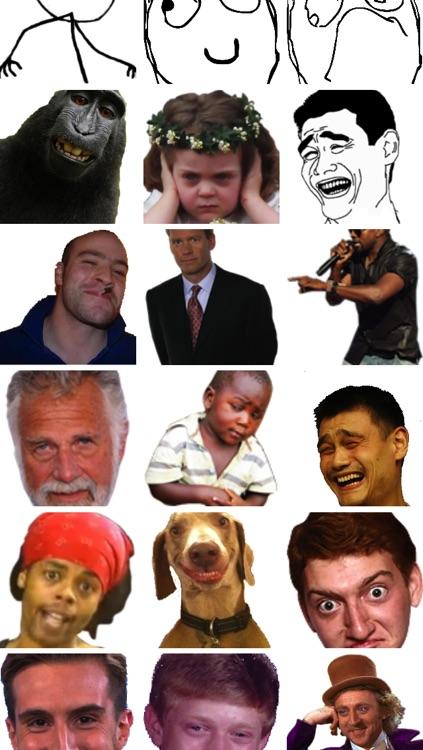 Meme Emojis screenshot-3