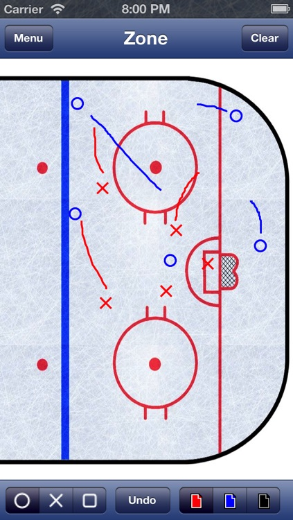 Hockey Strategy Board screenshot-2