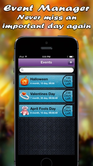 Event Manager - Manage Your Event to Surprise Dearest One Screenshot