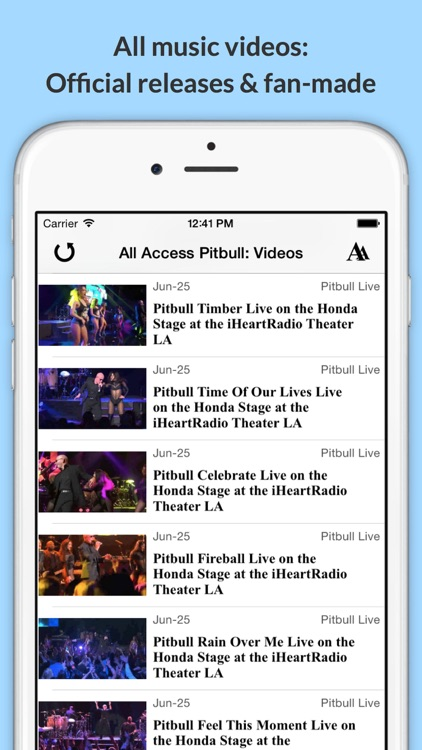 All Access: Pitbull Edition - Music, Videos, Social, Photos, News & More! screenshot-2