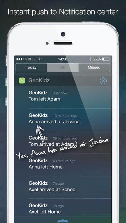 GeoKidz Child check-in and locator screenshot-3