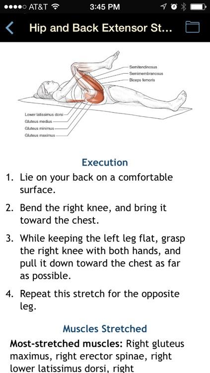 Stretching Anatomy screenshot-3