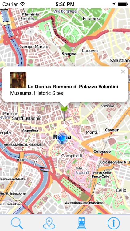 Offline Map Rome - Guide, Attractions and Transport screenshot-3