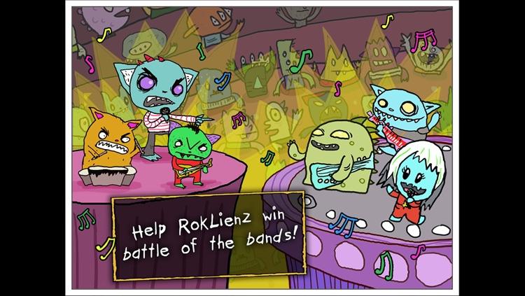 RokLienz: On Tour! - Music rhythm game! - A Fingerprint Network App
