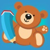塗り絵の本 子供のためのおもちゃの:おもちゃ、少年のような多くの写真と、 ロケット 、テディベア、ボール、車や飛行機。ゲームに 学ぶ 幼稚園、保育園や保育所の場合 - iPhoneアプリ