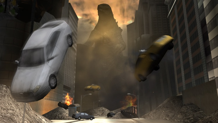 Godzilla: Strike Zone screenshot-4