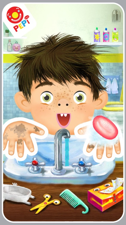 Pepi Bath Lite screenshot-2