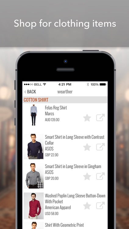 wearther - The weather forecasting app that styles you screenshot-4