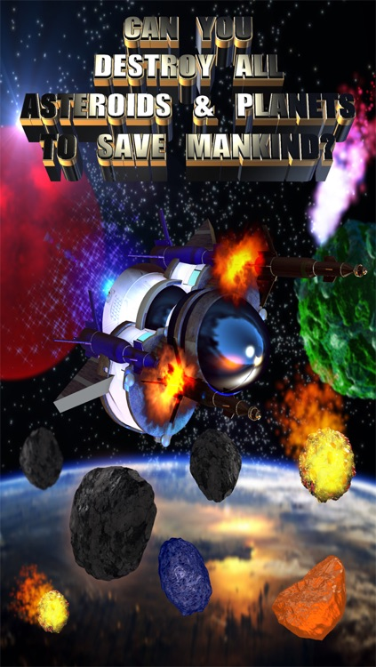 Asteroids & Planets Clash - Space Shooting Multiplayer screenshot-2