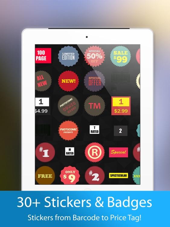 PhotoComic for iPad screenshot-3