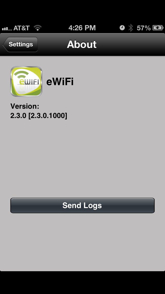 Etisalat eWifi screenshot four