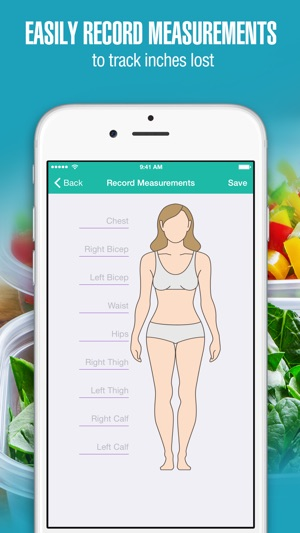 apps to track body measurements