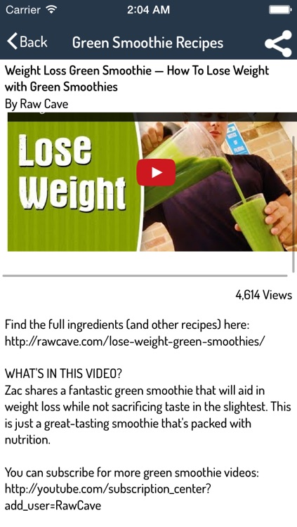Smoothie Recipes - Ultimate Video Guide For Smoothie Recipes screenshot-3
