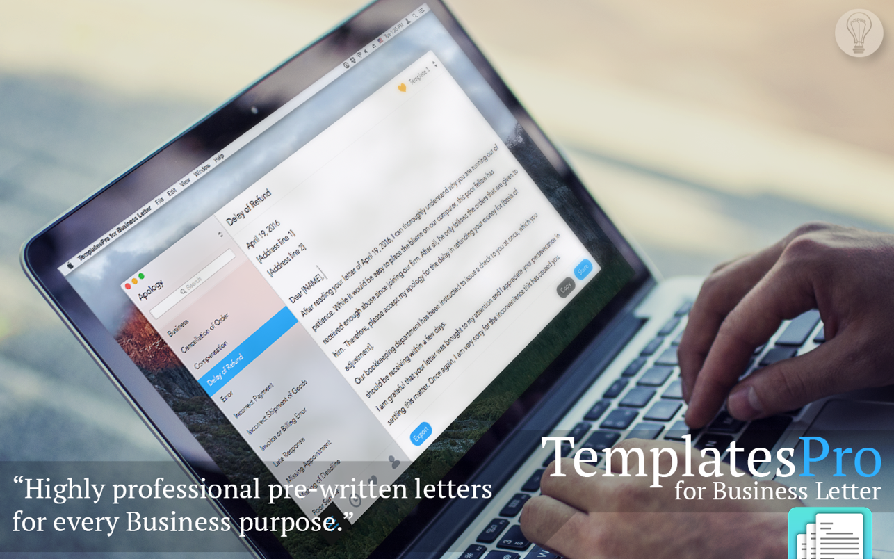 TemplatesPro - Business Letter