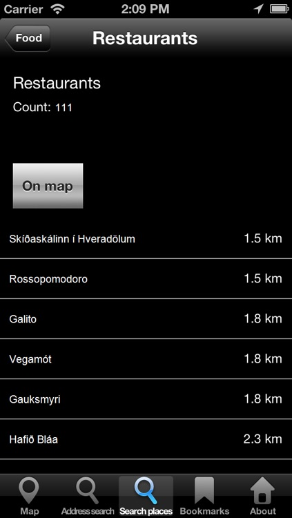Offline Map Iceland: City Navigator Maps screenshot-4