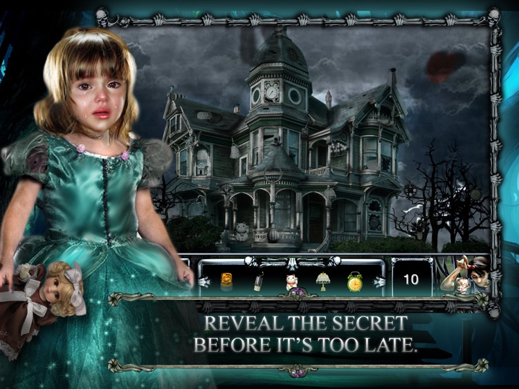 Abandoned Haunted House : Hidden Objects screenshot-4