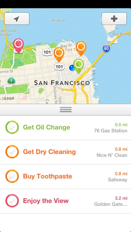 Nearly - Smart Location Reminders