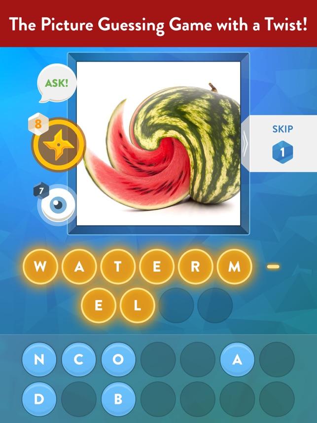 Swirly Pics Quiz Free Word