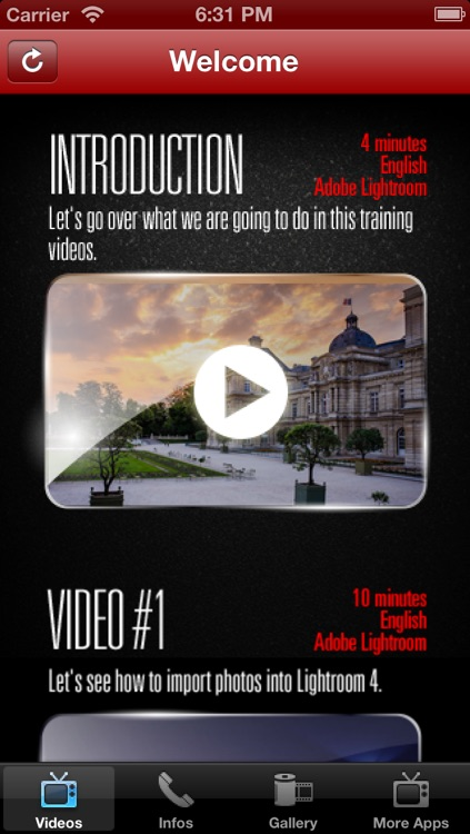 Quickstart Lightroom 4