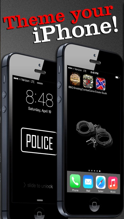 Police Themes! Backgrounds, Wallpaper, & Lock Screens screenshot-3