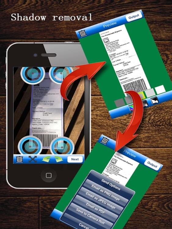 JJScan HD:  scan documents to PDF screenshot-4