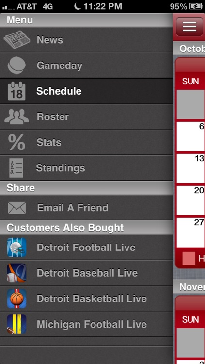 Detroit Hockey Live screenshot-1