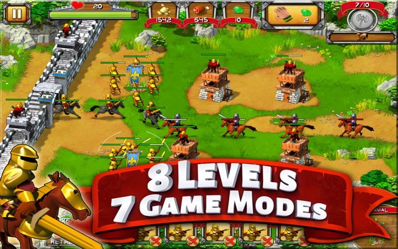 The Wall : Medieval Heroes screenshot 3