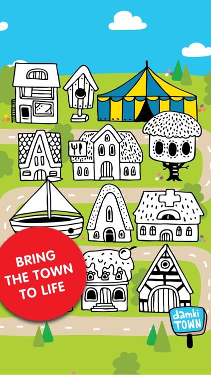Damki Town – Colouring Book