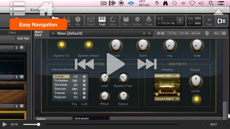 Course for Advanced Kontakt 5 screenshot-3