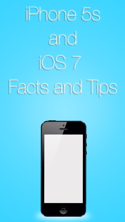 Facts,Tips and Tricks for iOS 7 and iPhone 5s