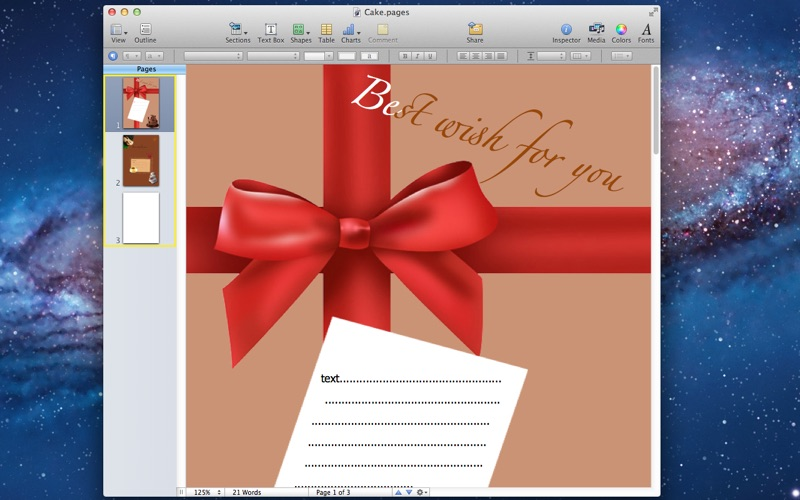 Templates - for Pages + for Mac