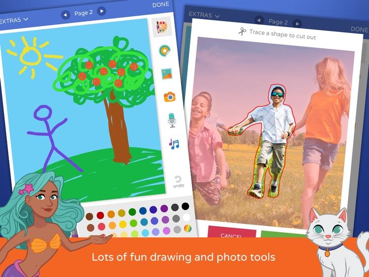Scribble Press - Creative Book Maker for Kids screenshot-3