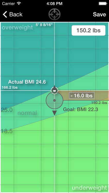 Weight inTime - Weight control with a little help screenshot-3