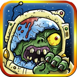 Ninjas Vs. Zombies in Space! - A Defense Running Game Free