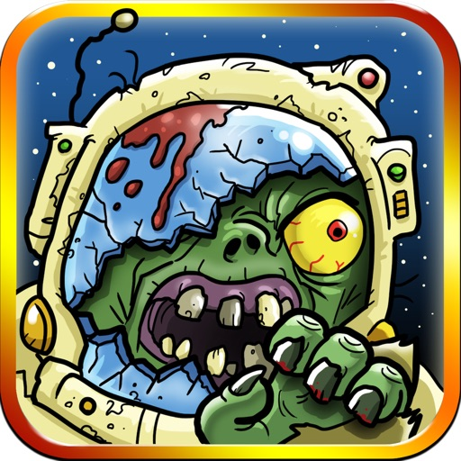 Ninjas Vs. Zombies in Space! - A Defense Running Game Free iOS App